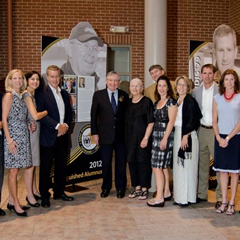 Larry Dolan '50 and Family Earn Lifetime Achievement Award