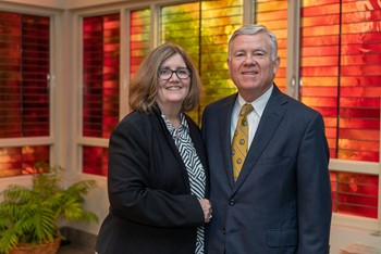 Janet E. and Jeffrey T. Leitch '71 to Receive Magis Award