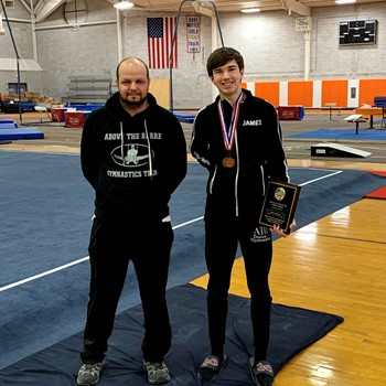 James Thoma Qualifies for National USA Gymnastics Team
