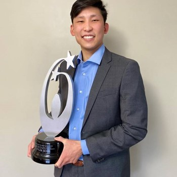 Tyler Hong Named Male High School Athlete of the Year