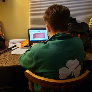 Matthew McKenna '21 on Distance Learning
