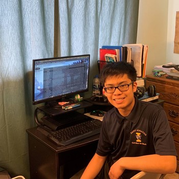 Justin Ortega '23 on Distance Learning
