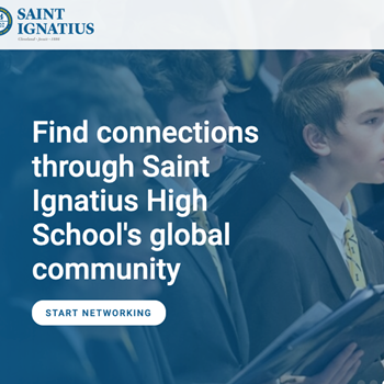Saint Ignatius Connect Header