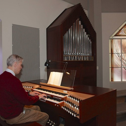 Pat Macoska '69<br>Donor and architect of the organ in St. Mary's Chapel image